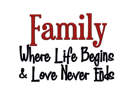 Family where Life begins and Love never ends 2. Instant