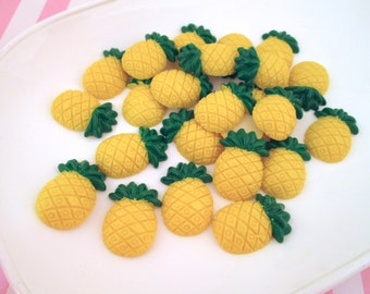 Pineapple Cabochons, Pick Your Amount, #815a