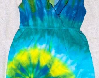 Women's Medium Tie Dye Sundress