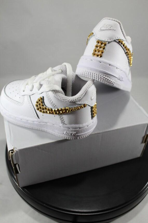 custom bling air ones bling tennis shoes bling