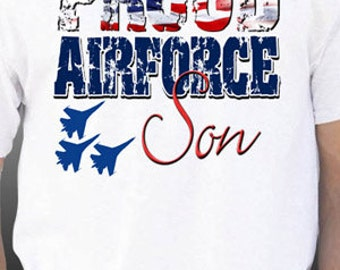 Proud Airforce Son T-Shirt
