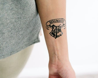 2 harry potter always temporary tattoos geektat