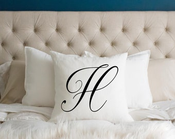 Customized Name Gift, Personalized Wedding Gift, Initials, Pillow Cover, Gift for Couple, Gift for Bride and Groom, Modern Decor, Pillows