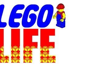 LEGO LIFE cutting file svg. Silhouette , Cricut etc. Lego , blocks , kids