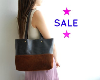SALE!! Leather tote bag Brown, womens totes, leather shoulder bag, leather everyday bag, leather tote bag, leather tote bag, leather bag