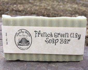 French Green Clay Soap Bar