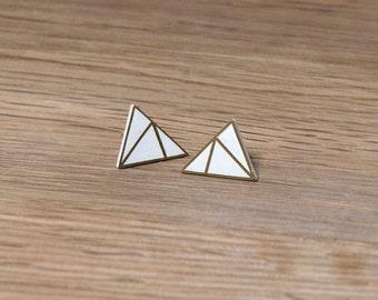 Gold 'Bowie' Earrings