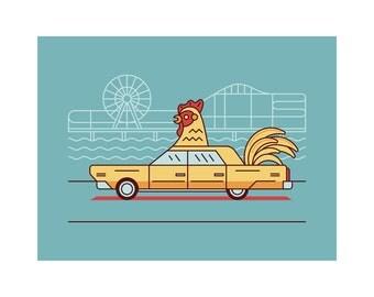 Chicken Car