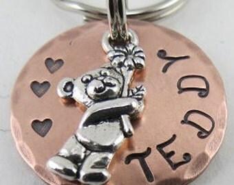 Dog tag, Dog ID tag, Pet tag, Pet ID tag, Cat Name Tag, Dog name tag, Personalized dog tag, Pet Accessories, Metal Pet Id, Pet ID