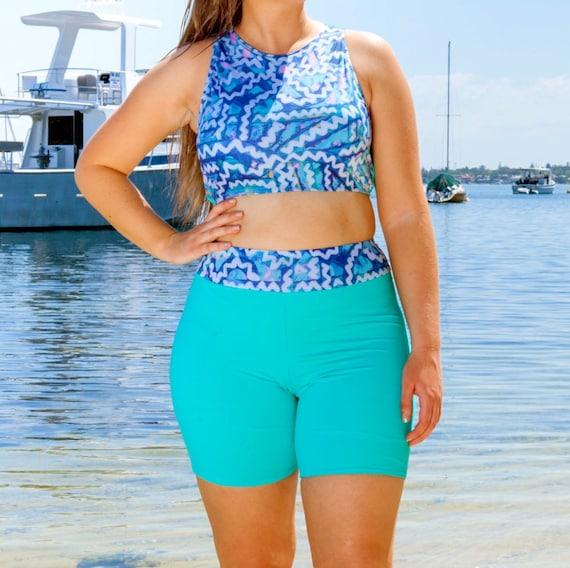 high waisted bikini shorts - photo #29
