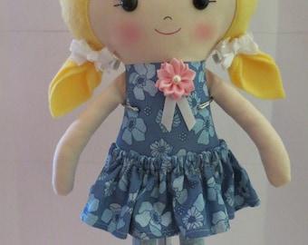 Rag doll, Doll, Handmade Doll