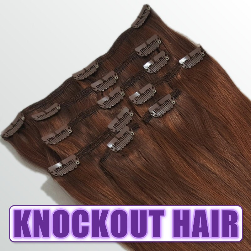 Clip In Human Hair Extensions 18