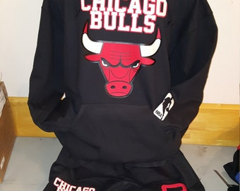 Chicago, Chicago Bulls Sweat Suit, Custom Sweat Suit *Free Shipping*