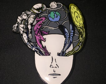 Halloween 2015 - Bassnectar Masquerade Mask Pin