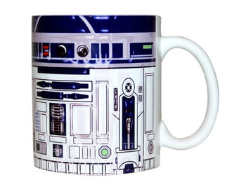 Star Wars Mug, R2D2 Mug, Star Wars Coffee Mug, Star Wars Ceramic Mug, Star Wars Coffee Cup, Tea Mug, Star Wars Gift, R2D2, Birthday Gift