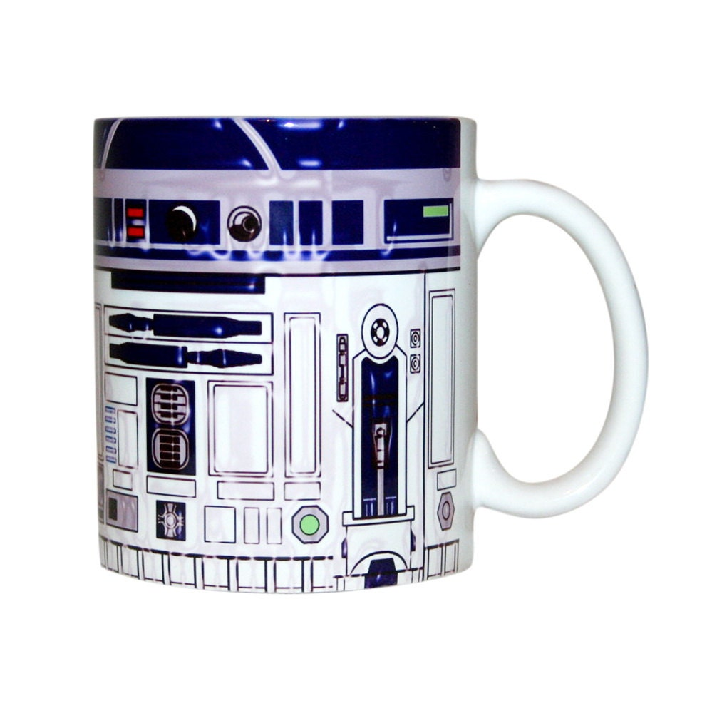 star wars mug r2d2 mug star wars coffee mug star wars. Black Bedroom Furniture Sets. Home Design Ideas