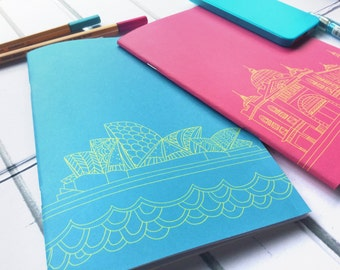 Notebook / Melbourne Sydney Australia