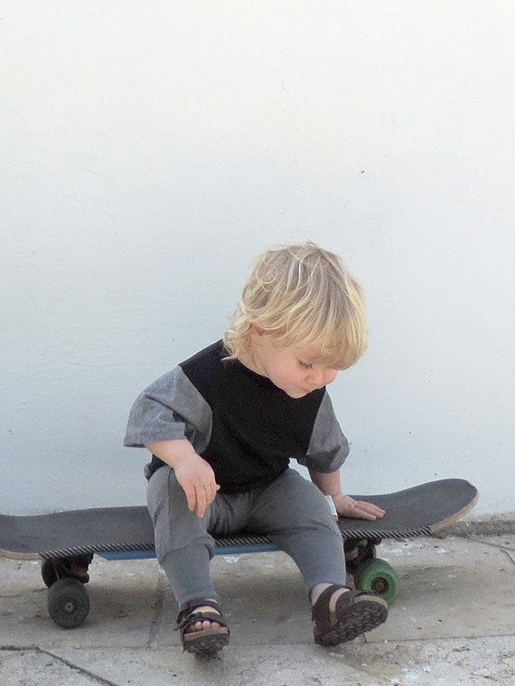 Black Toddler T-Shirt, Boys And Girls Top, Toddlers T-Shirt, Toddler Top, Cool Kids T-Shirt, Trendy Hipster Kids Fashion, SALE