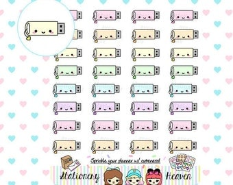 Kawaii flash drive | Perfect for any planner