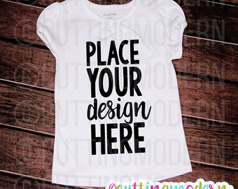 Mockup Plain White Shirt- Digital Download for Display purposes - Commercial Use - Instant Download
