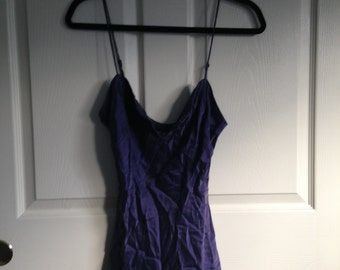 Vintage Victorias Secret %100 Silk Slip Dress