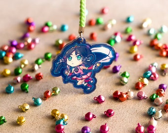 Ace Attorney Spirit of Justice Rayfa Padma Khura'in Acrylic Charm