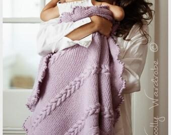 KNITTING PATTERN - Lyla Baby Blanket