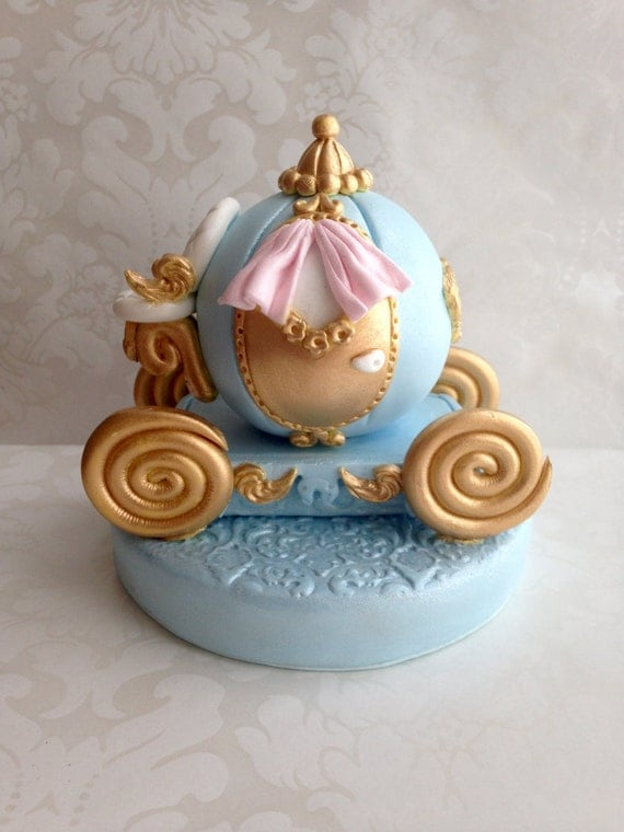 cinderella carriage wedding cake toppers fondant princess carriage cake topper cinderella carriage cake 12851