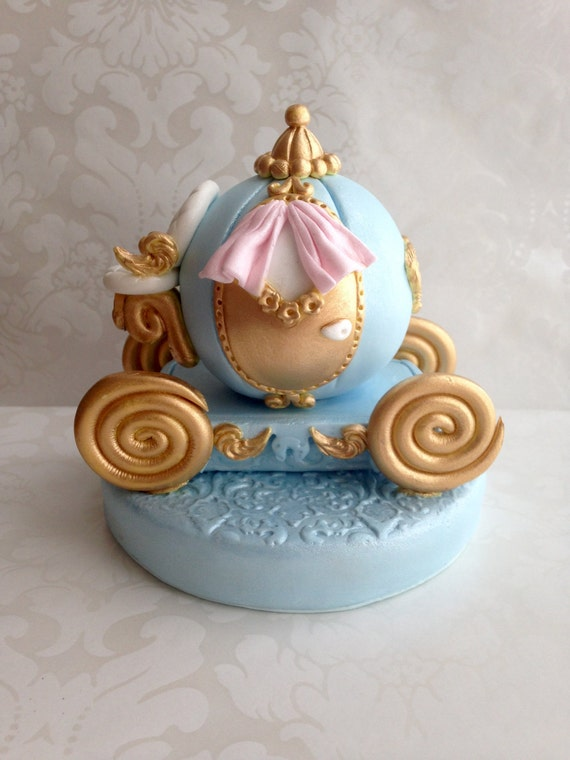 cinderella wedding cake images fondant princess carriage cake topper cinderella carriage cake 12861