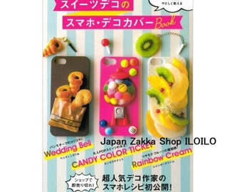 """Japanese Resin Handicraft Book,""""Sweets Deco Smartphone Decoration Cover of How to make BOOK""""[4309284159]"""
