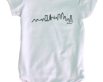 Boston Skyline Onesie/T-Shirt