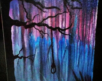 I wont see you tonight... Canvas Painting