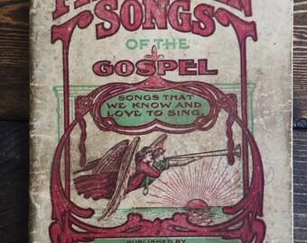 1900's Gospel Sheet Music Song Book