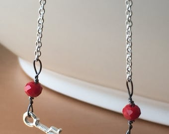 Sword necklace. Silver 925. Free shipping within USA.