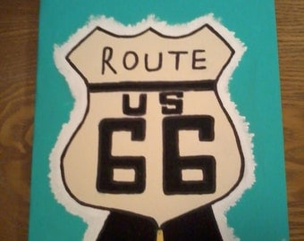 Route 66 - 'The Mother Road'