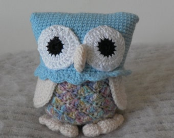 Crochet Owl Toy