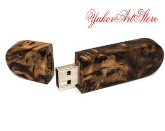 64Gb Flash Drive Wood-USB Flash Drive-USB Flash-usb driver-usb Pen Drive-custom usb-usb flash memory-USB Wood-Unique flash drives-Gift