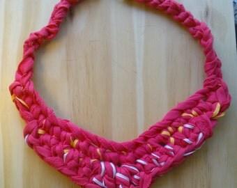 Framboise Bib Necklace