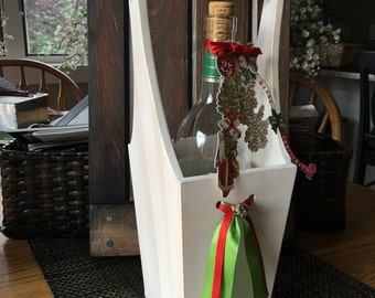 Functional and Unique Wine Caddy/Tote