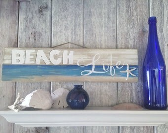 Pallet Wall Art - Pallet Art - Pallet Sign - Ocean Art - Ocean Sign - Starfish Decor - Beach Art - Shell Art - Beach Sign
