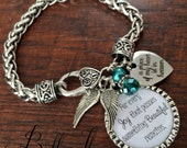 SYMPATHY gift, In memory of sympathy gift, condolence gift, REMEMBRANCE jewelry, remembrance gifts, ANGEL wings, cross charm, memorial