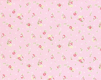 Princess Rose Fabric by Lecien - Rosey L31267-20 Pink