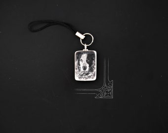 Portrait photo Tile Charm for Cell Phone/Purse/Ipod or Keychain