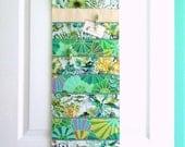 Wall or Door Hanging Organizer in a Multipocket Design