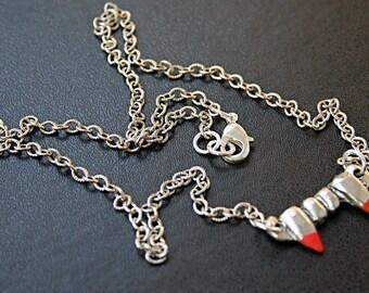 Bloody Vampire Teeth Necklace