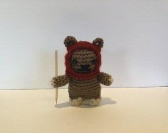 Ewok Crochet Amigurumi : Ewok amigurumi Etsy