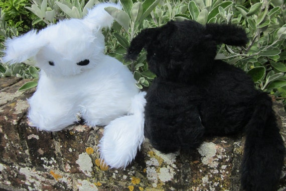 Cuddly Kitten Toys, Furry Black and White Plushies, Cool Kids Toys, Toy for Tots, Cool Tots Toys, Cool Toddler Toy, Special Toy Present.