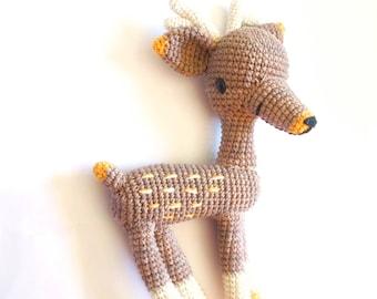 Bimba, the deer-Crochet pattern/amigurumi