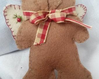 Cute little christmas bear