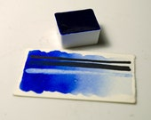 Ultramarine Blue Light Handmade Artist Watercolour Paint Schmincke Half-pan